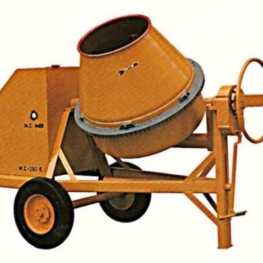 Hormigonera eléctrica 200 litros